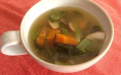 スープ三段活用。