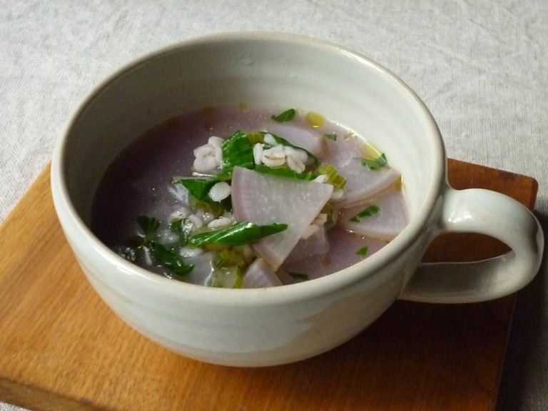 そしてスープ