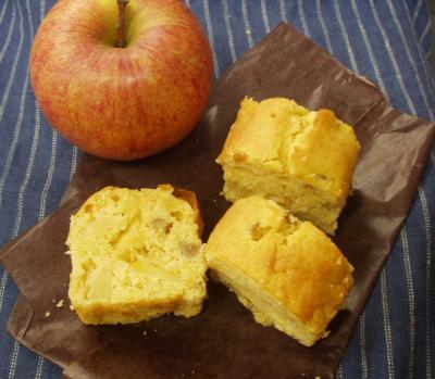 りんごのお菓子に決まり!