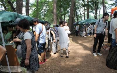 小岩井CRAFT市、開催中。