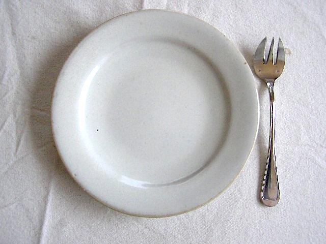 小久慈焼の皿いろいろ。