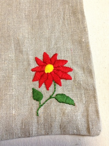 さあ、ハンガリー刺繍です。