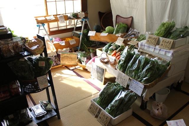 11月24日はお野菜市です。