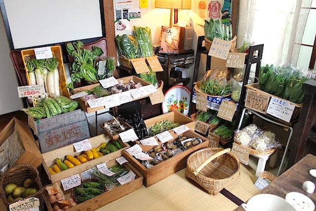 まずはお野菜市のこと。