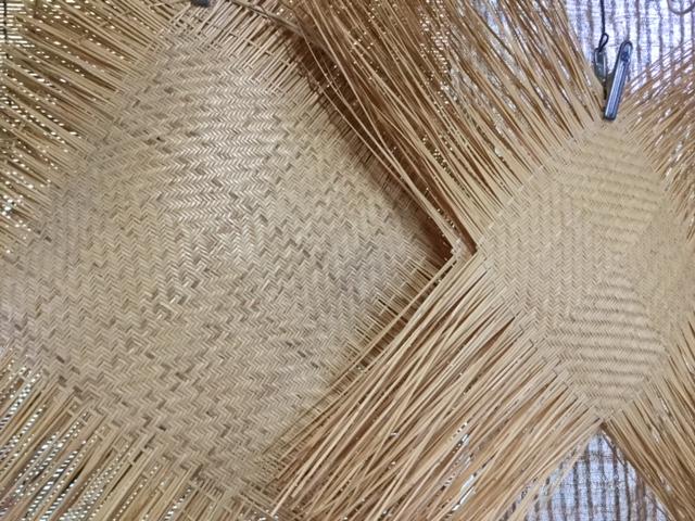 22日は鳥越の竹細工、実演♪
